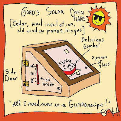 """It Strikes Me Funny by G. Harrison: It Strikes Me Funny: """"Ants in a solar  oven come out at No. 1"""""""